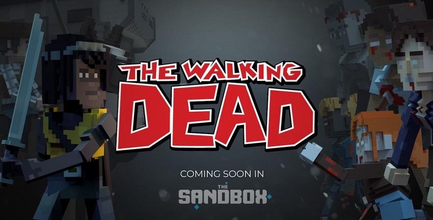Les zombies de The Walking Dead débarquent dans le monde virtuel du jeu blockchain The Sand Box
