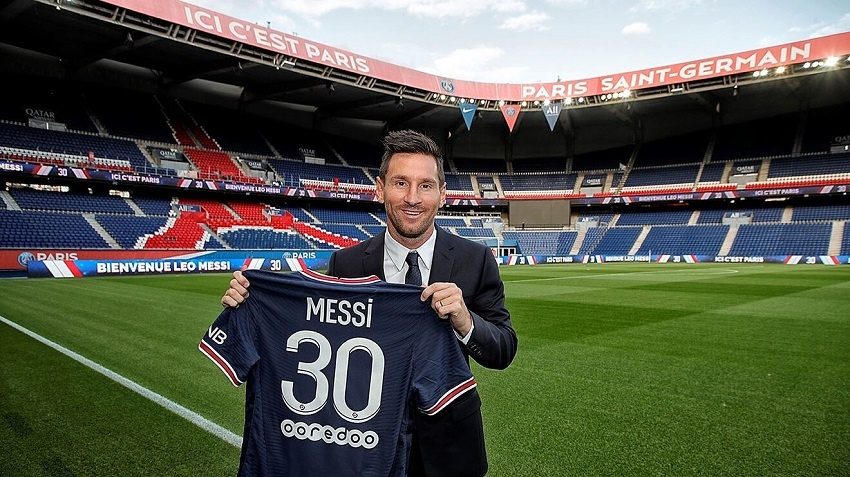 Le salaire de Lionel Messi au PSG intègre également une rémunération en jetons crypto Fan Token PSG
