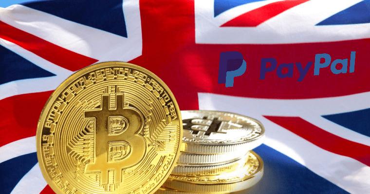 PayPal lance son service de crypto-monnaie en Europe et commence par le Royaume-Uni