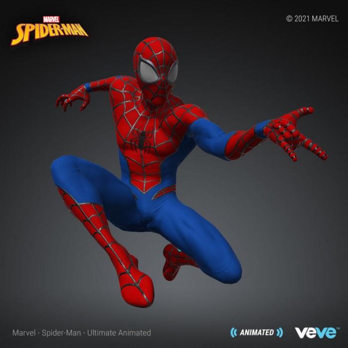 nft premium Spider-Man — Ultimate Animated