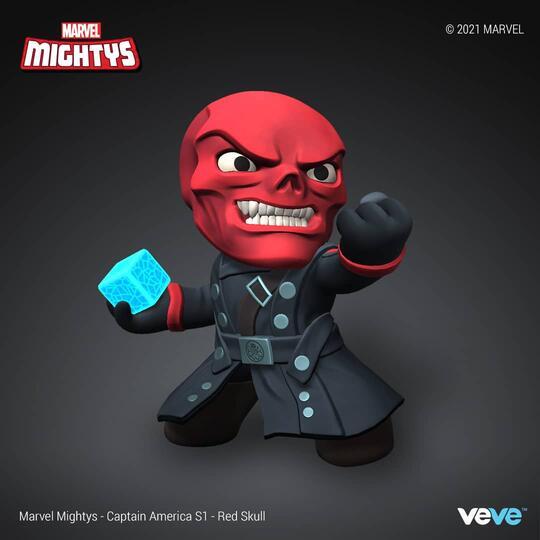 nft red skull ultra rare