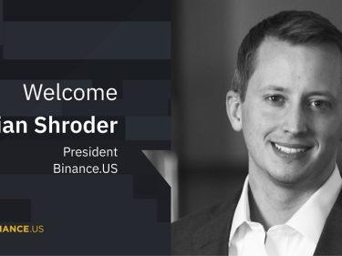 Binance US a choisi Brian Shroder comme nouveau président