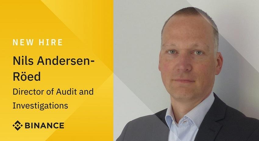 Binance recrute Nils Andersen Röed, ancien policier d'Europol et spécialiste du darknet