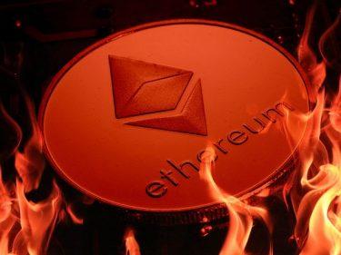 La blockchain Ethereum a brûlé plus d'un milliard de dollars en jetons ETH depuis la mise en place de l'EIP-1559