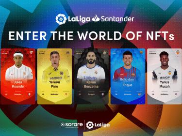 Le jeu de football sur blockchain Sorare annonce l'arrivée de LaLiga