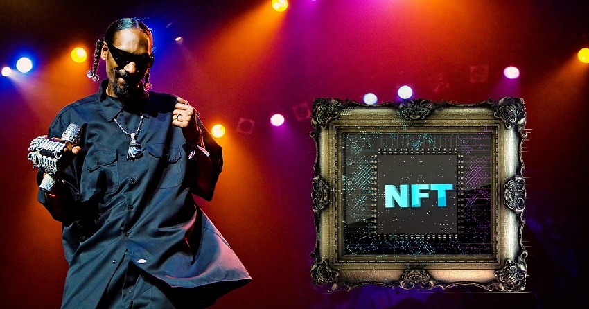 Le rappeur Snoop Dogg détient plus de 17 millions de dollars en jetons non fongibles (NFT)