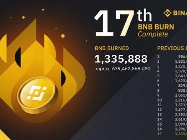 Binance élimine 639 millions de dollars en tokens BNB, le cours BNB de retour au niveau des 500 dollars