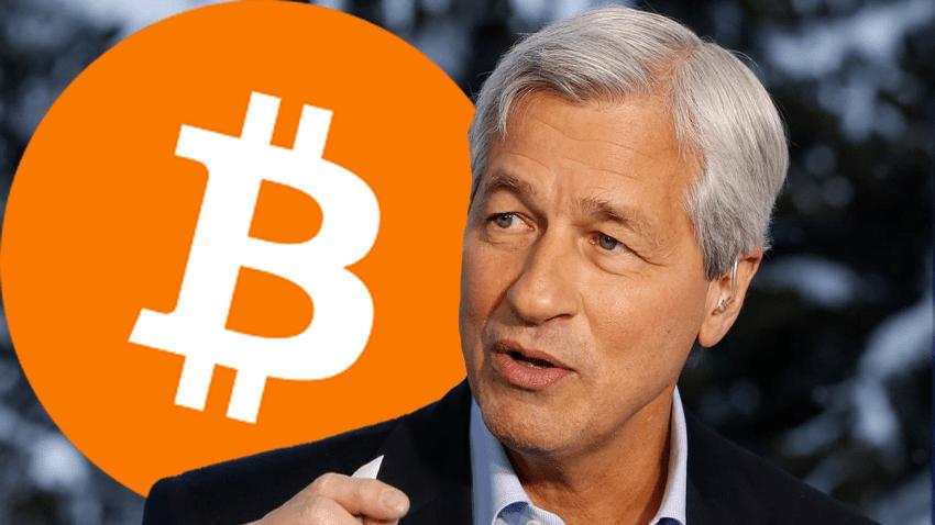 """Contrairement à ses clients qui veulent acheter du BTC, le PDG de JPMorgan estime que """"e Bitcoin ne vaut rien"""
