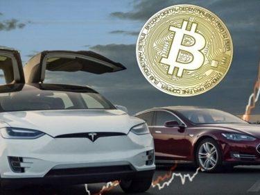 Dans un document déposé auprès de la SEC, Tesla indique qu'elle pourrait accepter de nouveau le paiement en Bitcoin BTC