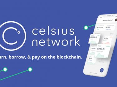 La plate-forme de staking et de prêt crypto Celsius Network a levé 400 millions de dollars