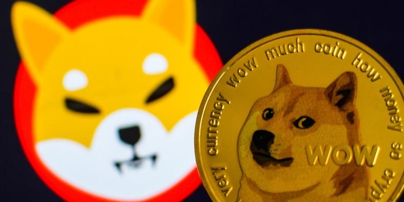 Le cours SHIB (Shiba Inu) atteint la 11e place sur CoinMarketCap, juste derrière le Dogecoin (DOGE)