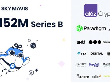 Sky Mavis, créateur du jeu sur Ethereum Axie Infinity (AXS), a levé 152 millions de dollars