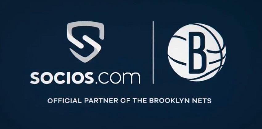 Socios.com a annoncé un nouveau partenariat avec l'équipe de basketball NBA des Brooklyn Nets